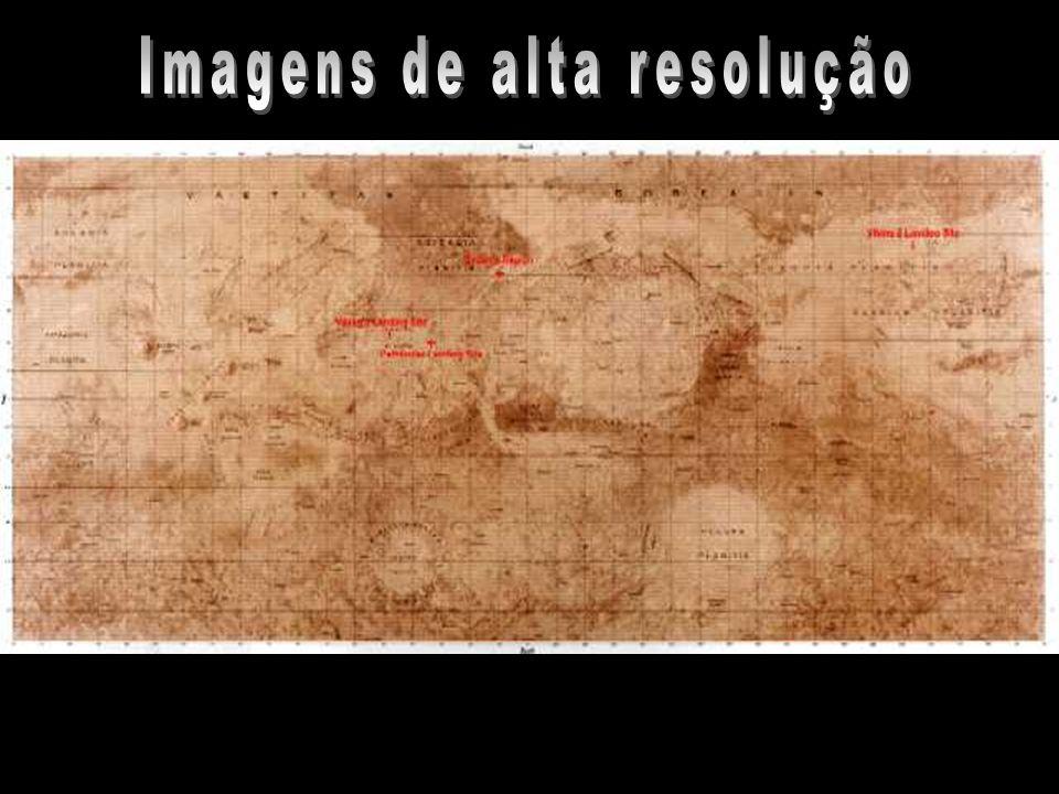 Imagens de alta resolução