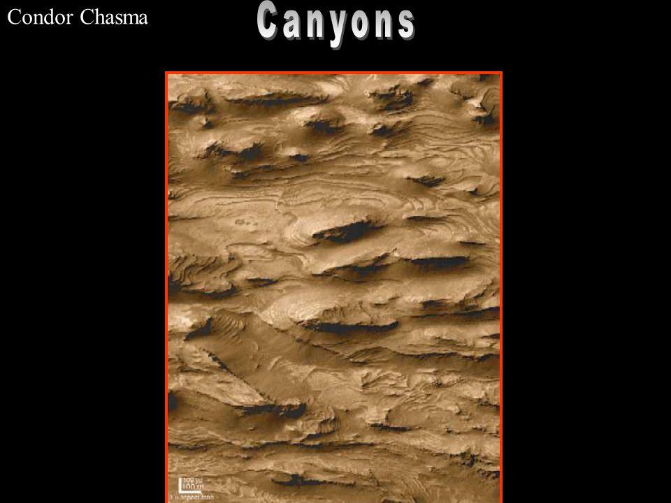 Condor Chasma Canyons