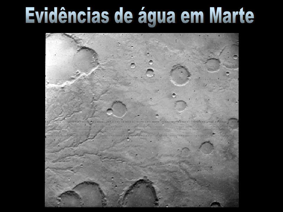 Evidências de água em Marte