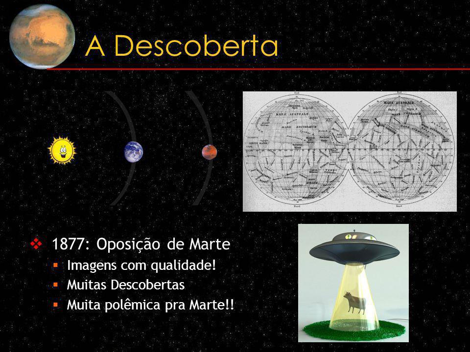A Descoberta 1877: Oposição de Marte Imagens com qualidade!