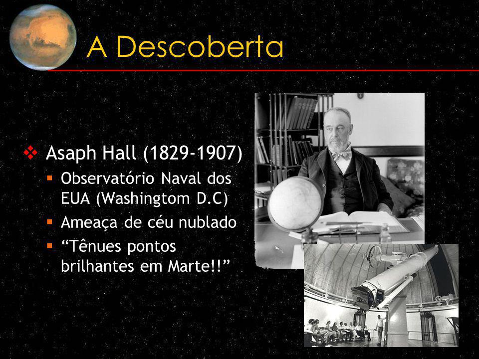 A Descoberta Asaph Hall (1829-1907)