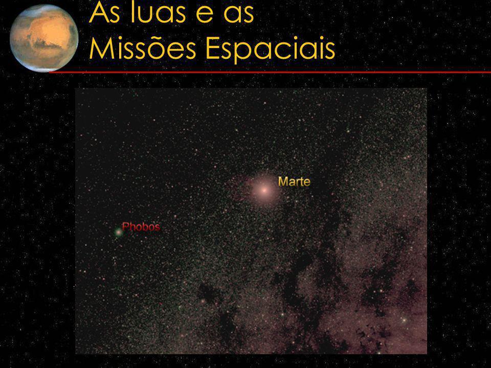 As luas e as Missões Espaciais