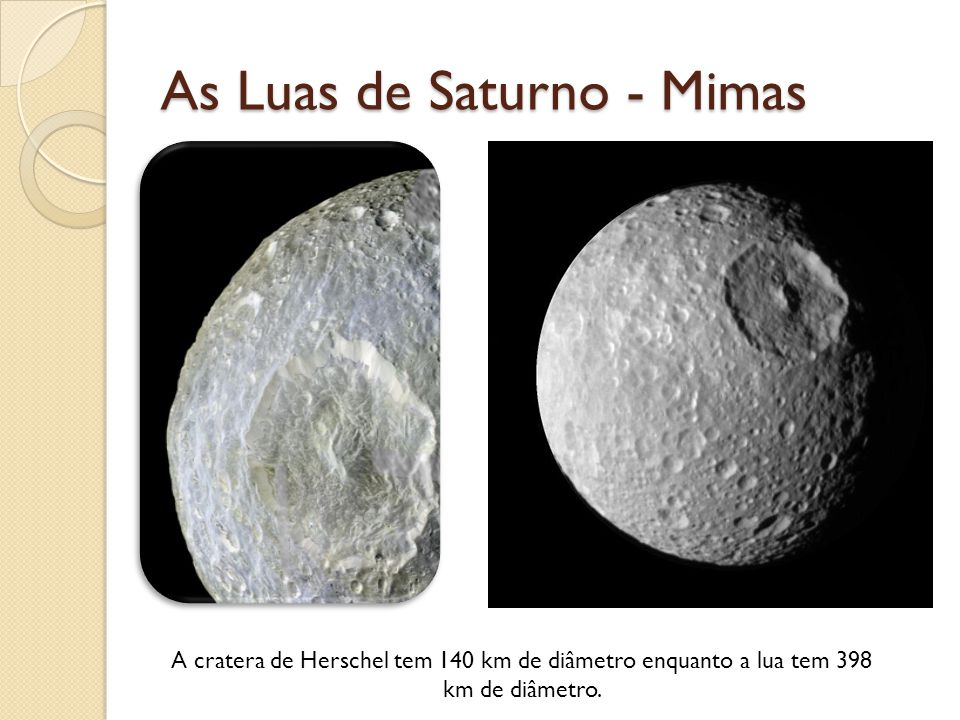 As Luas de Saturno - Mimas