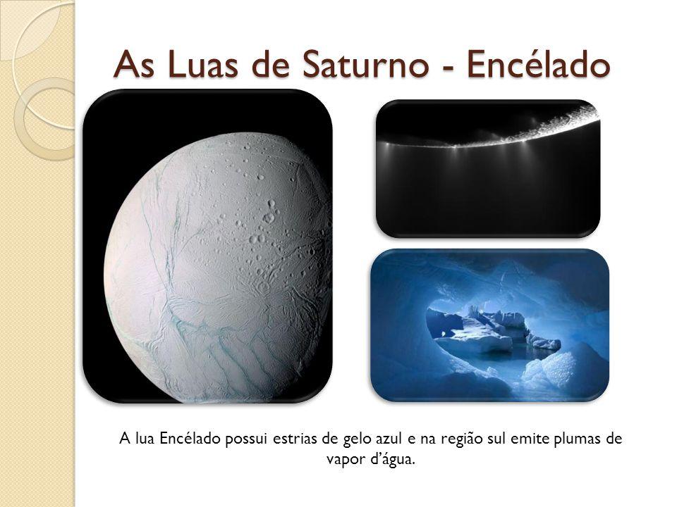 As Luas de Saturno - Encélado