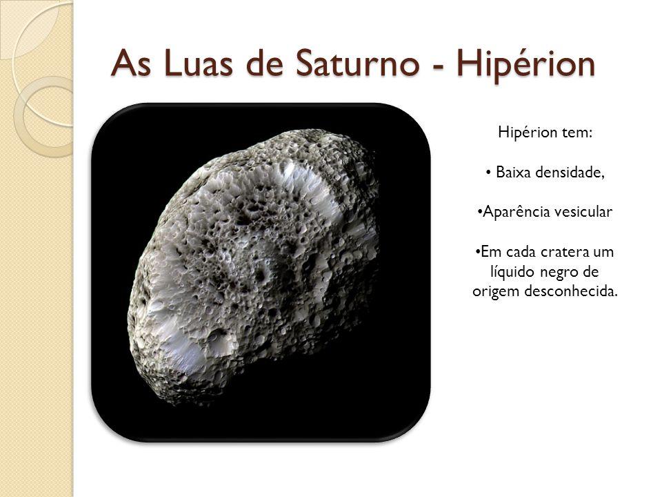 As Luas de Saturno - Hipérion