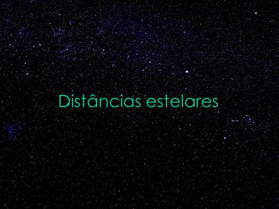 Distâncias estelares Fonte da figura do Sol: