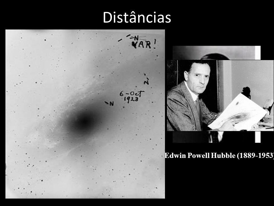 Distâncias Edwin Powell Hubble (1889-1953)