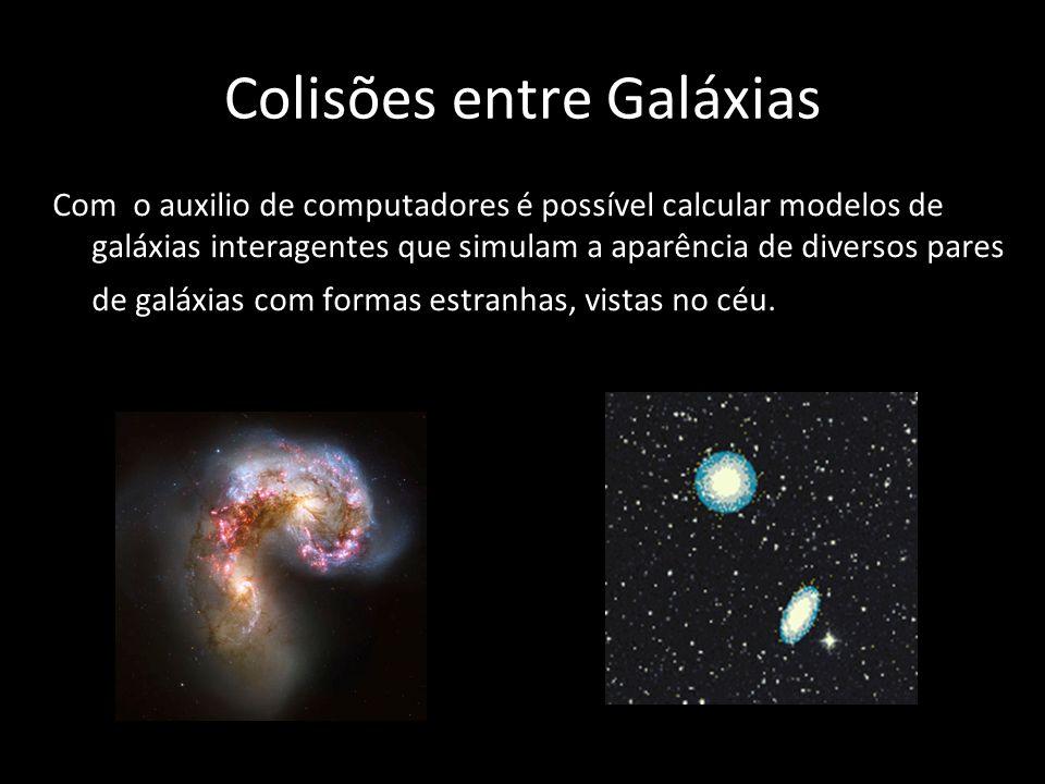 Colisões entre Galáxias