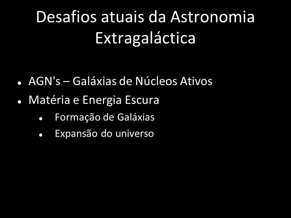 Desafios atuais da Astronomia Extragaláctica