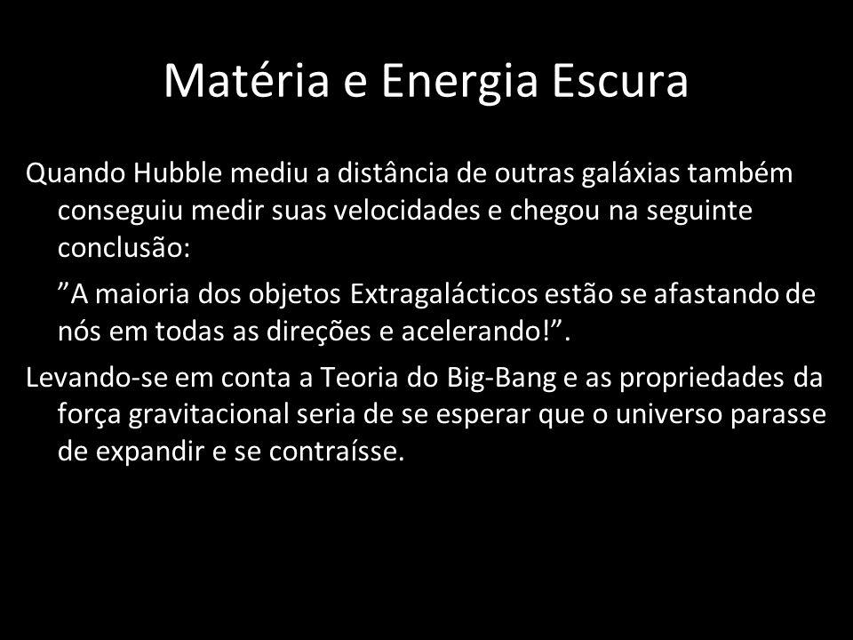 Matéria e Energia Escura
