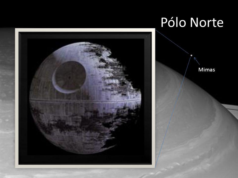 Pólo Norte Mimas. http://saturn.jpl.nasa.gov/photos/imagedetails/index.cfm imageId=4762.