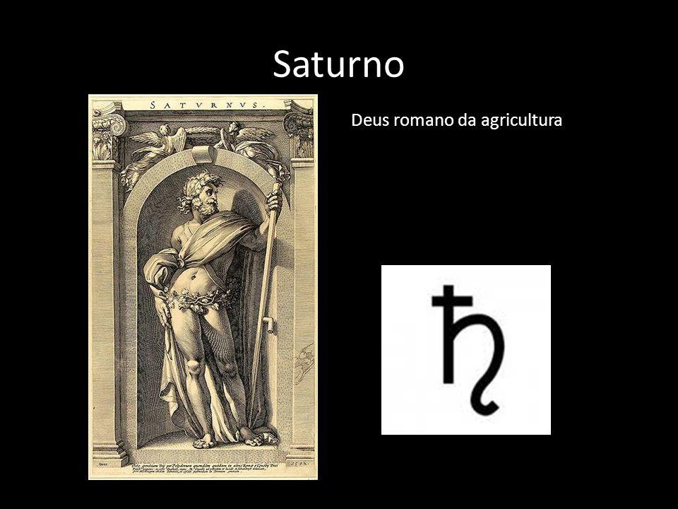 Saturno Deus romano da agricultura