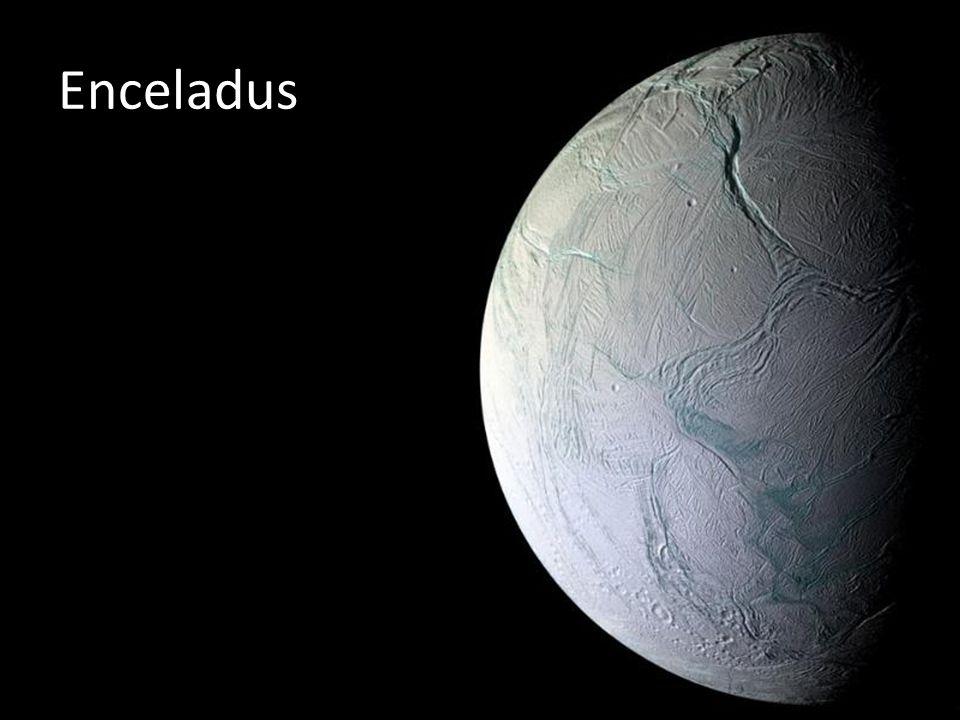 Enceladus Planeta gelado