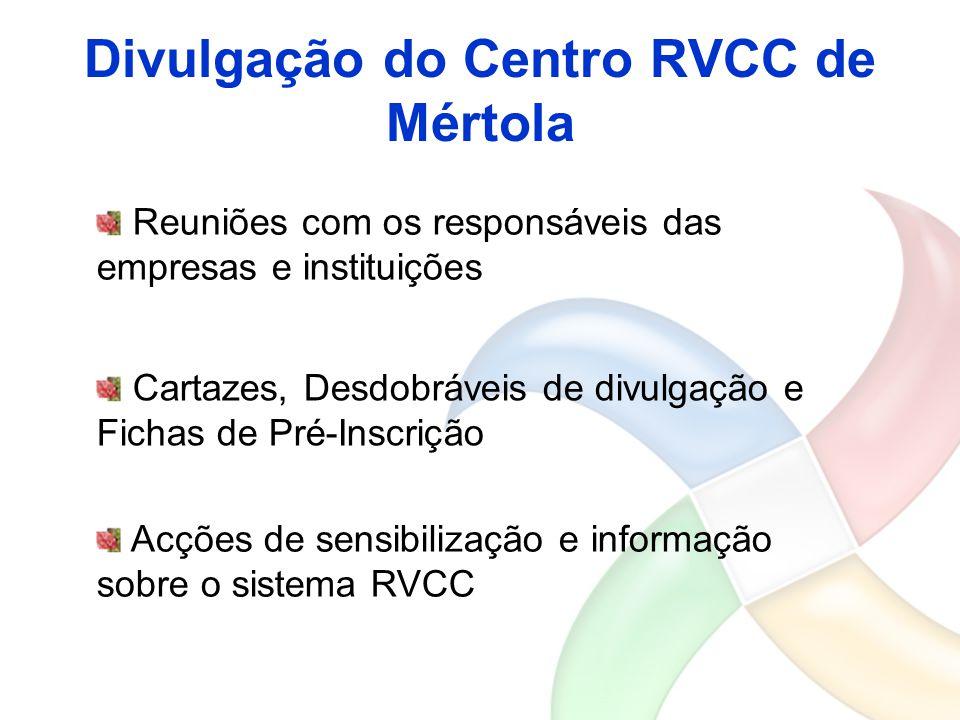 Divulgação do Centro RVCC de Mértola