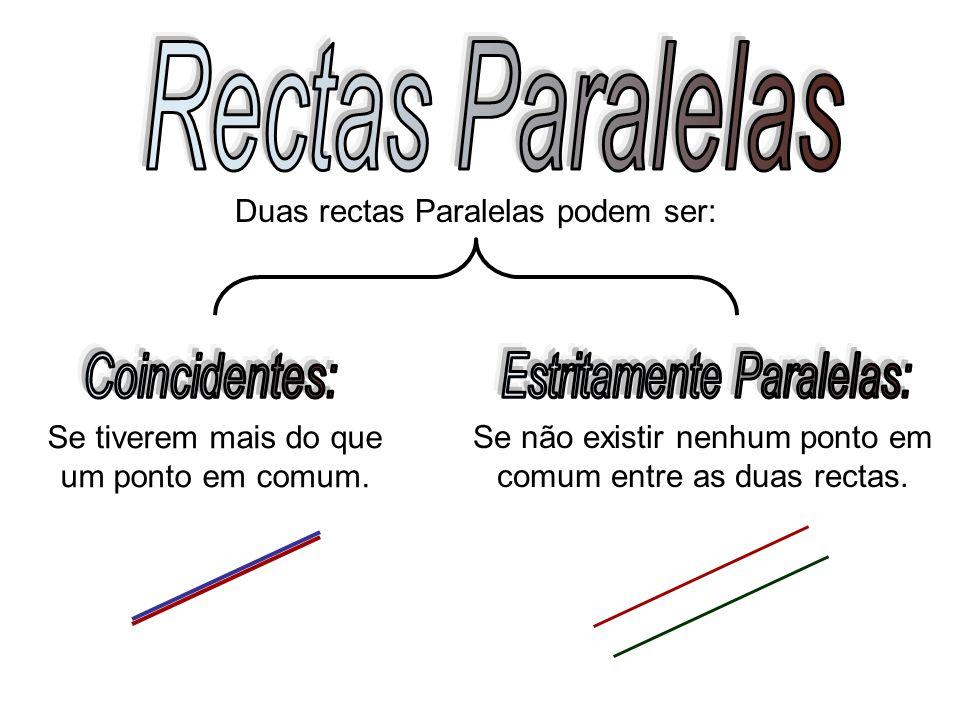 Estritamente Paralelas: