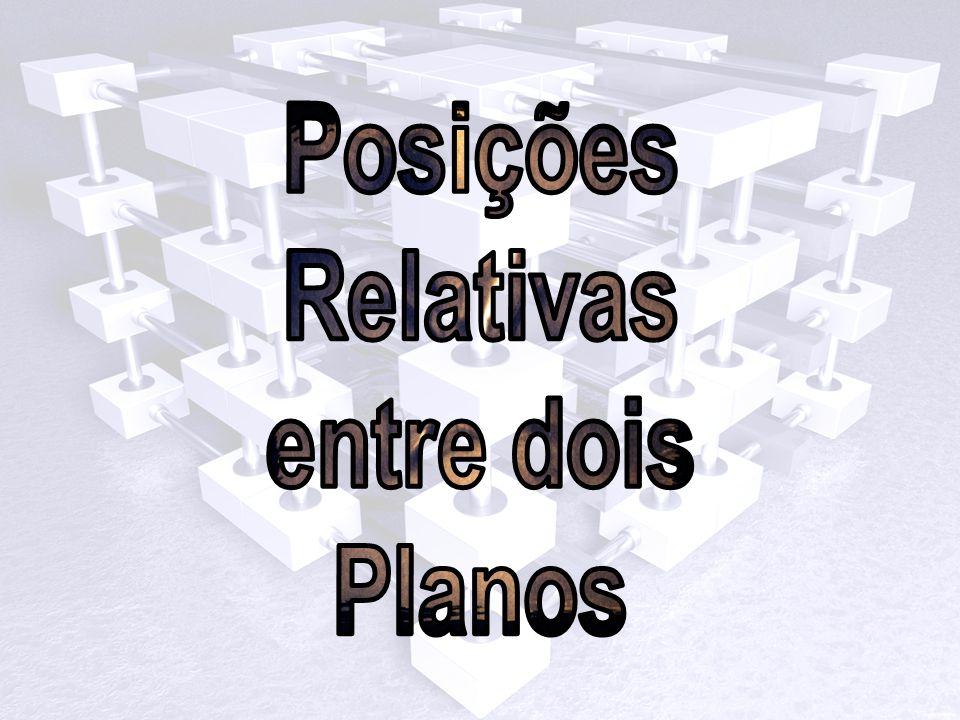Posições Relativas entre dois Planos