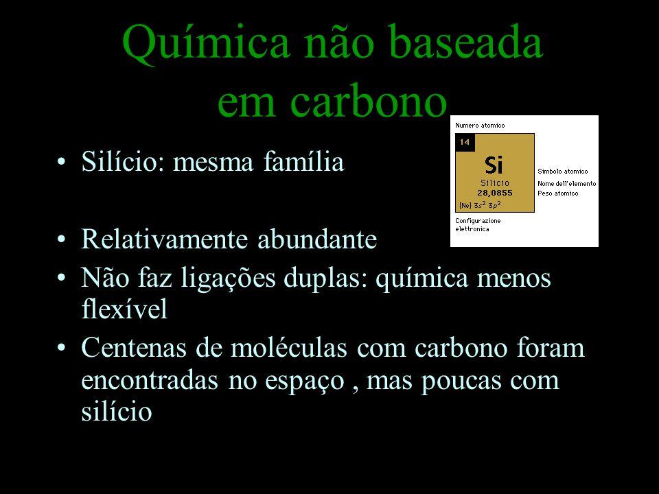 Química não baseada em carbono