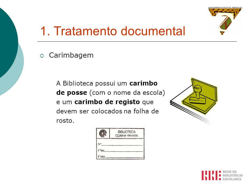 1. Tratamento documental