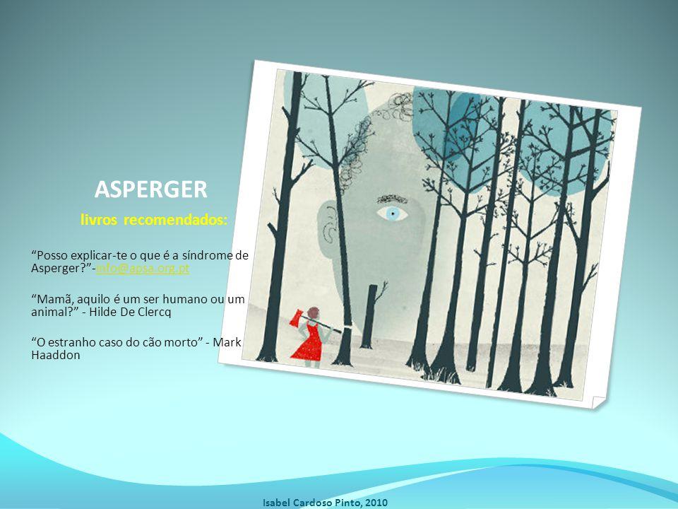 ASPERGER livros recomendados: