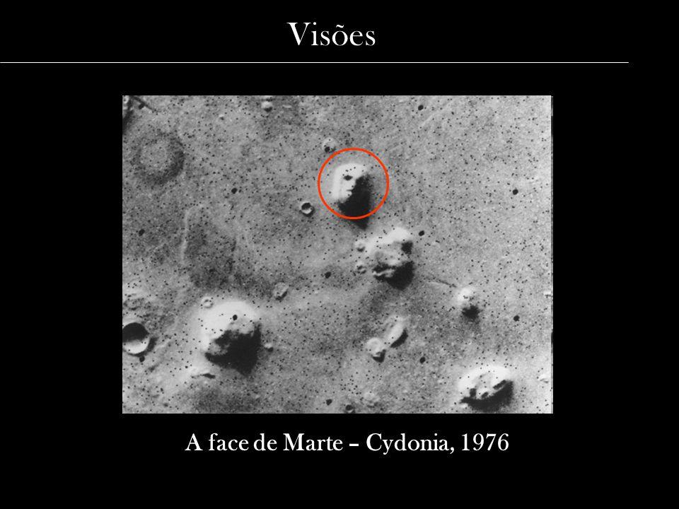 A face de Marte – Cydonia, 1976