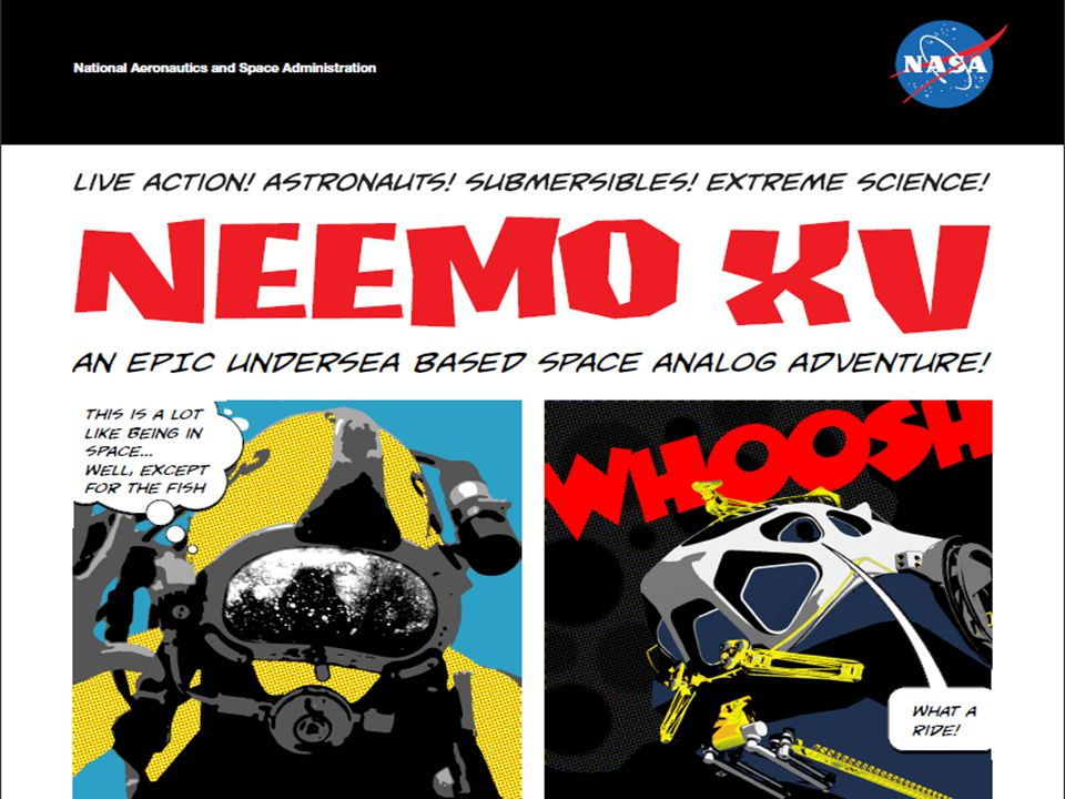 Fonte: http://www.nasa.gov/mission_pages/NEEMO/index.html