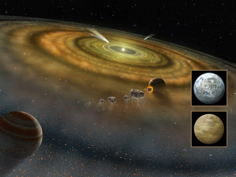 Mais um grande mistério é o da origem desses corpos do sistema solar
