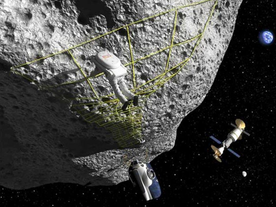 É para desvendar tudo isso e tirar essas dúvidas que já se está pensando em enviar expedições de exploração desses asteróides, sendo um deles o Projeto NEEMO 15 da Agência Espacial Norte Americana (NASA). Há grandes desafios para a missão, sendo um dos maiores a dificuldade em 'atracar' na superfície, uma vez que, diferentemente da Lua onde os astronautas ainda eram atraídos para o chão , os astronautas flutuariam simplesmente. E já estão sendo feitas algumas simulações só que...