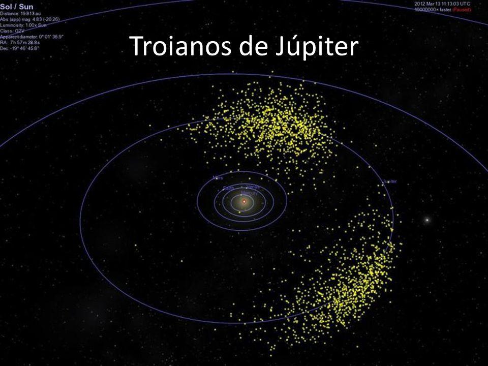 Troianos de Júpiter Aqui uma imagem dos gregos e troianos de Júpiter que somam centenas.