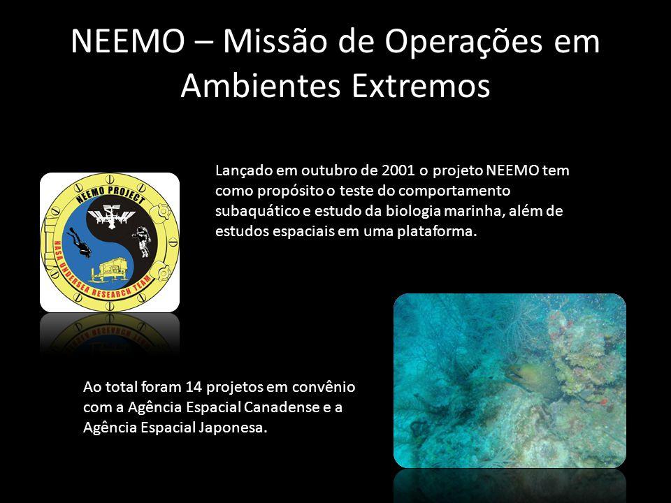 NEEMO – Missão de Operações em Ambientes Extremos