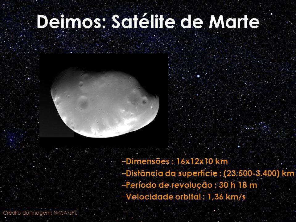 Deimos: Satélite de Marte
