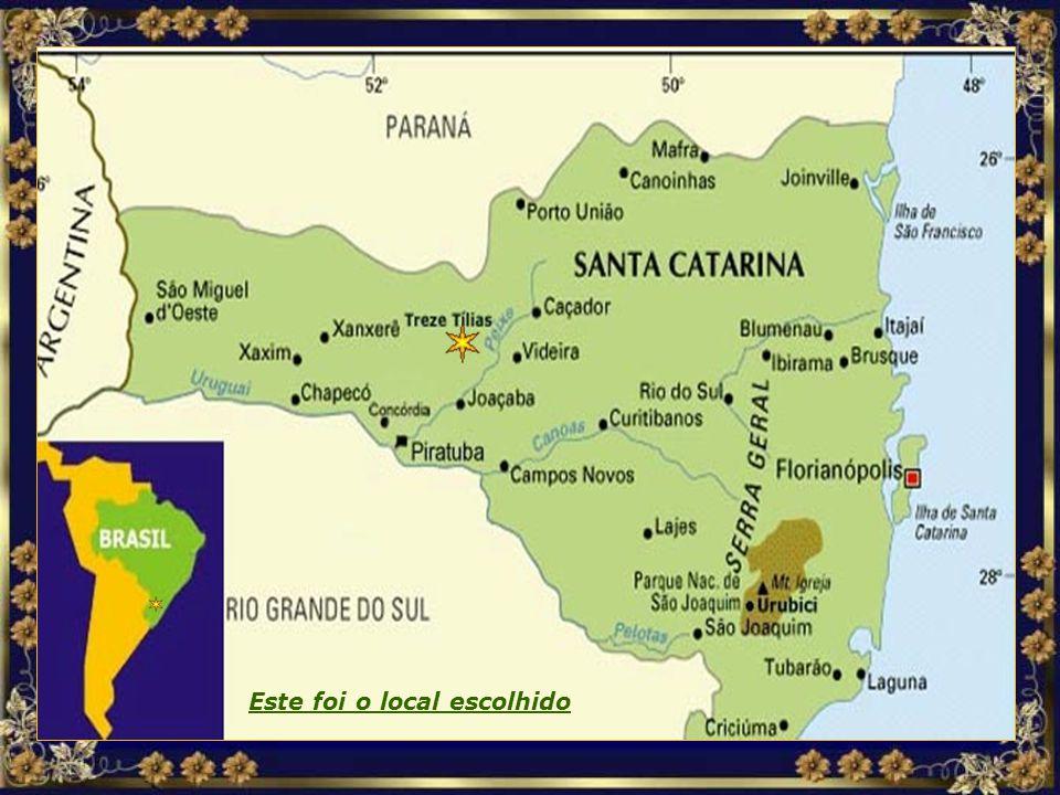 Localização MAPA TREZE TÍLIAS.jpg Este foi o local escolhido