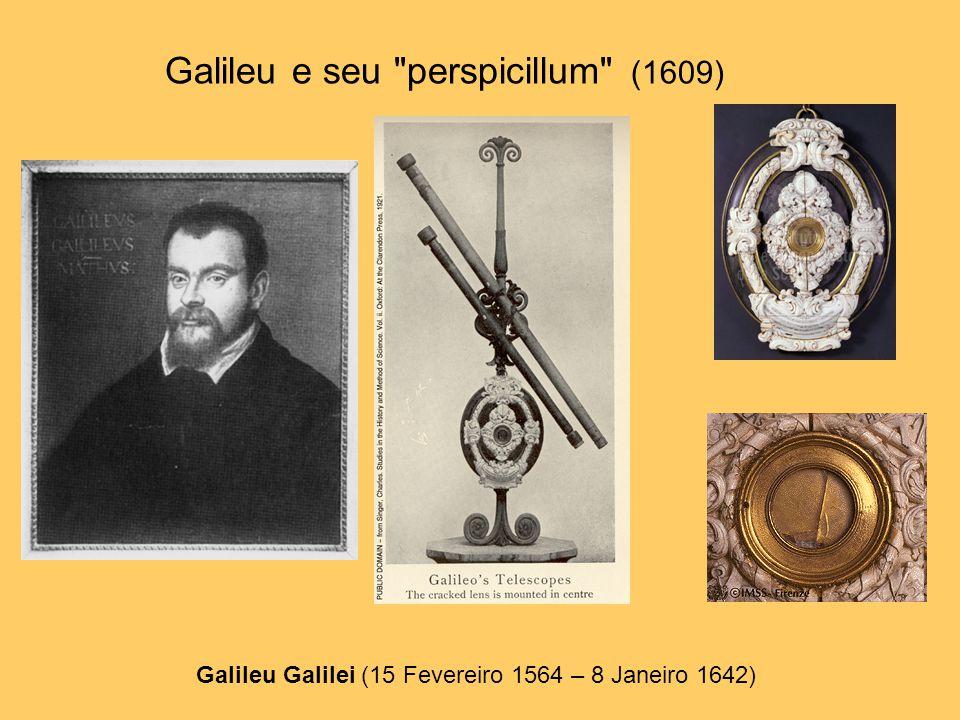 Galileu e seu perspicillum (1609)