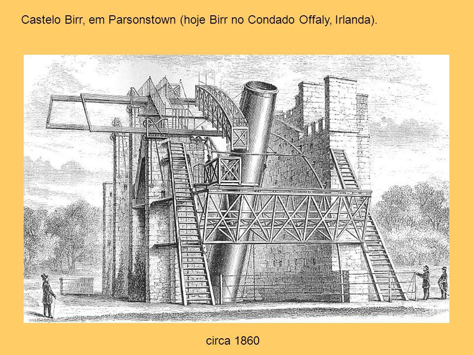 Castelo Birr, em Parsonstown (hoje Birr no Condado Offaly, Irlanda).