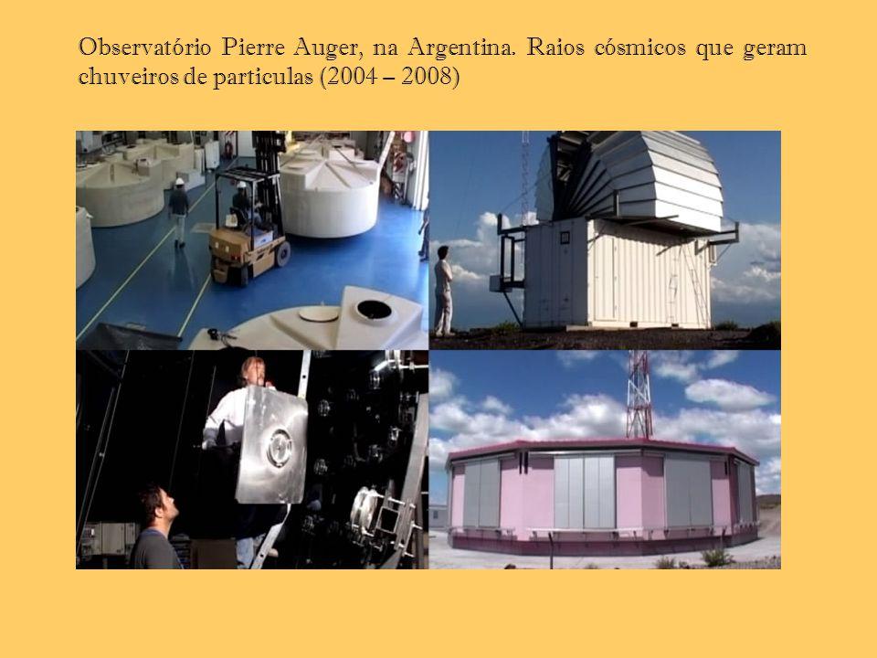 Observatório Pierre Auger, na Argentina