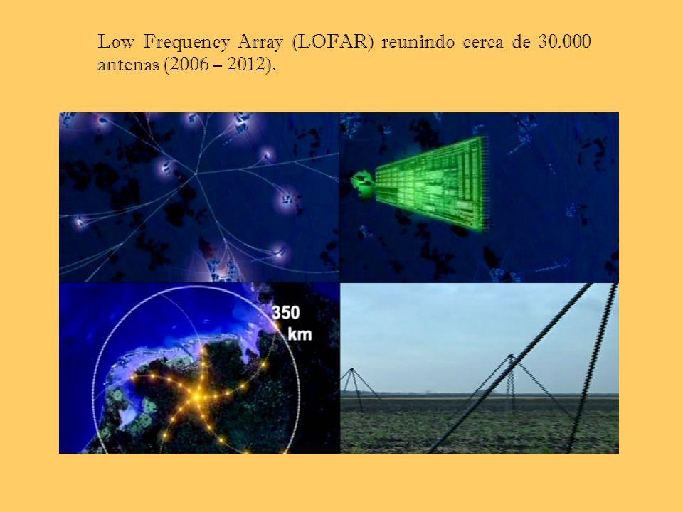 Low Frequency Array (LOFAR) reunindo cerca de 30