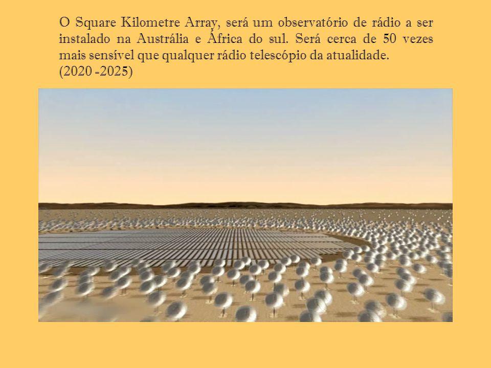 O Square Kilometre Array, será um observatório de rádio a ser instalado na Austrália e África do sul. Será cerca de 50 vezes mais sensível que qualquer rádio telescópio da atualidade.