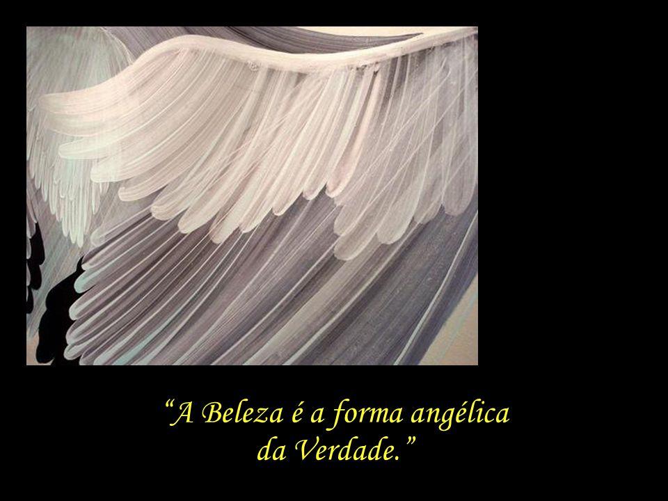 A Beleza é a forma angélica