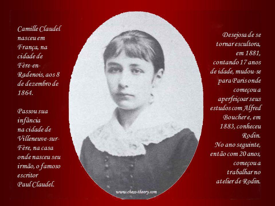 Camille Claudel nasceu em França, na cidade de