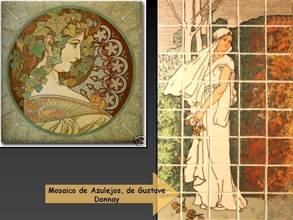 Mosaico de Azulejos, de Gustave Donnay