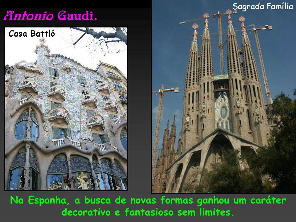 Sagrada Família Antonio Gaudi. Casa Battló.