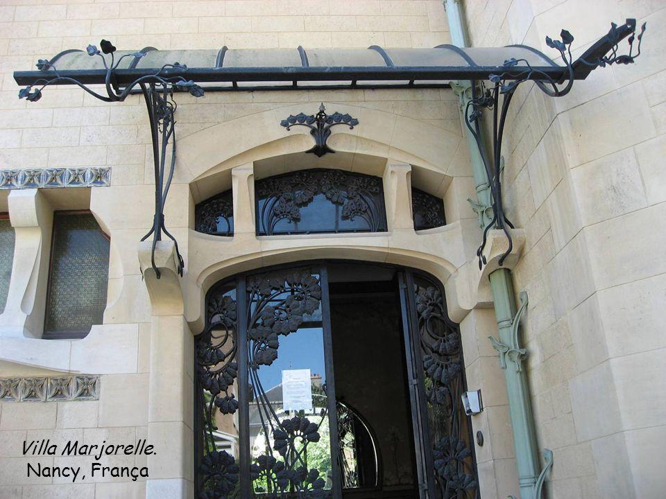 Villa Marjorelle. Nancy, França