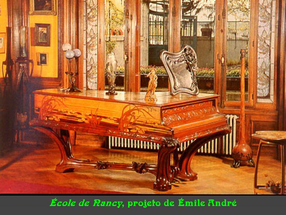 École de Nancy, projeto de Émile André