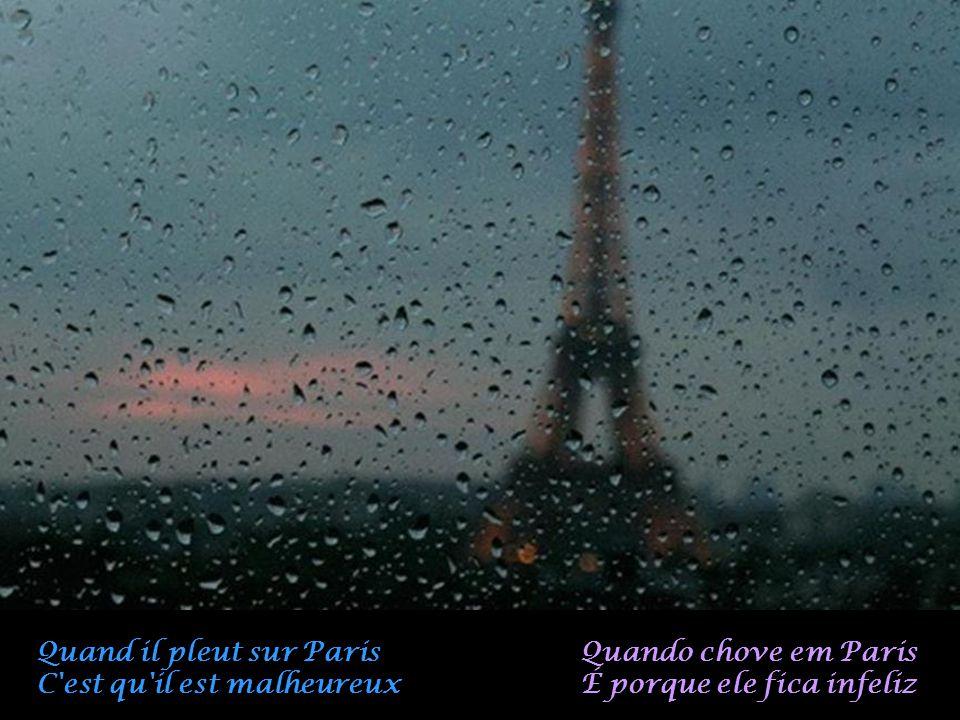 Quand il pleut sur Paris