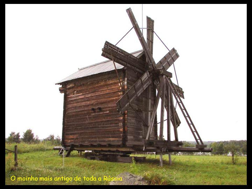 O moinho mais antigo de toda a Rússia