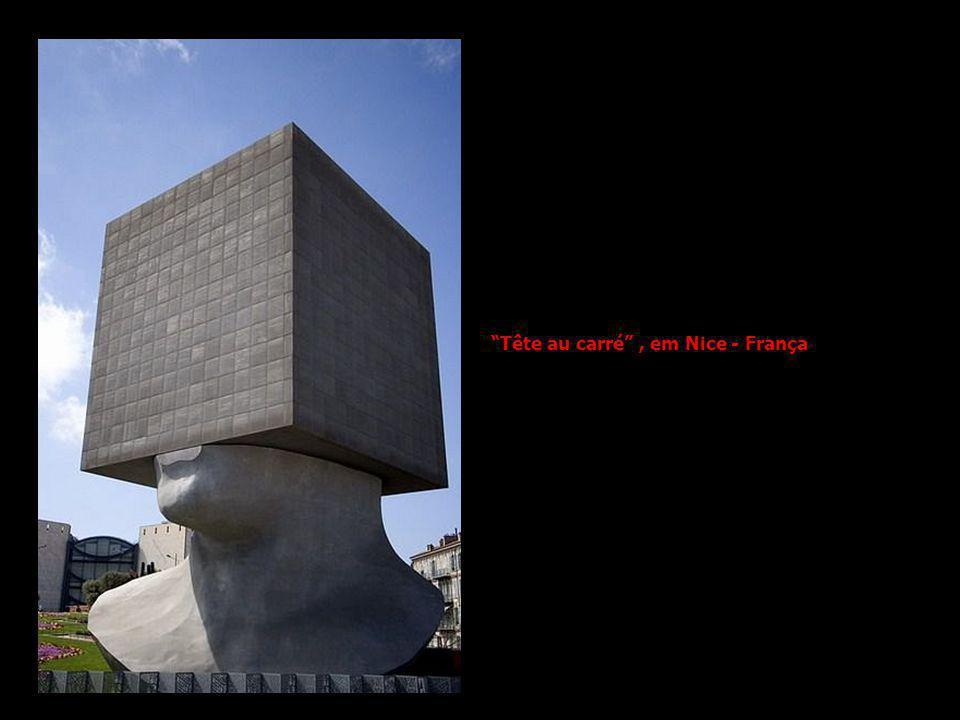 Tête au carré , em Nice - França