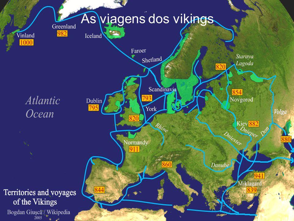 As viagens dos vikings