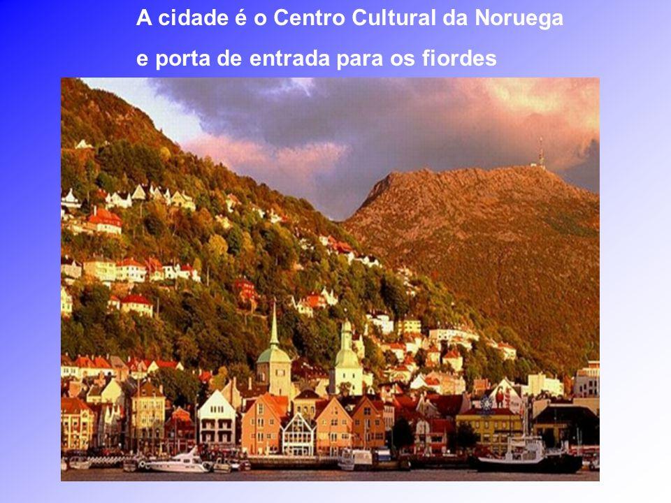 A cidade é o Centro Cultural da Noruega