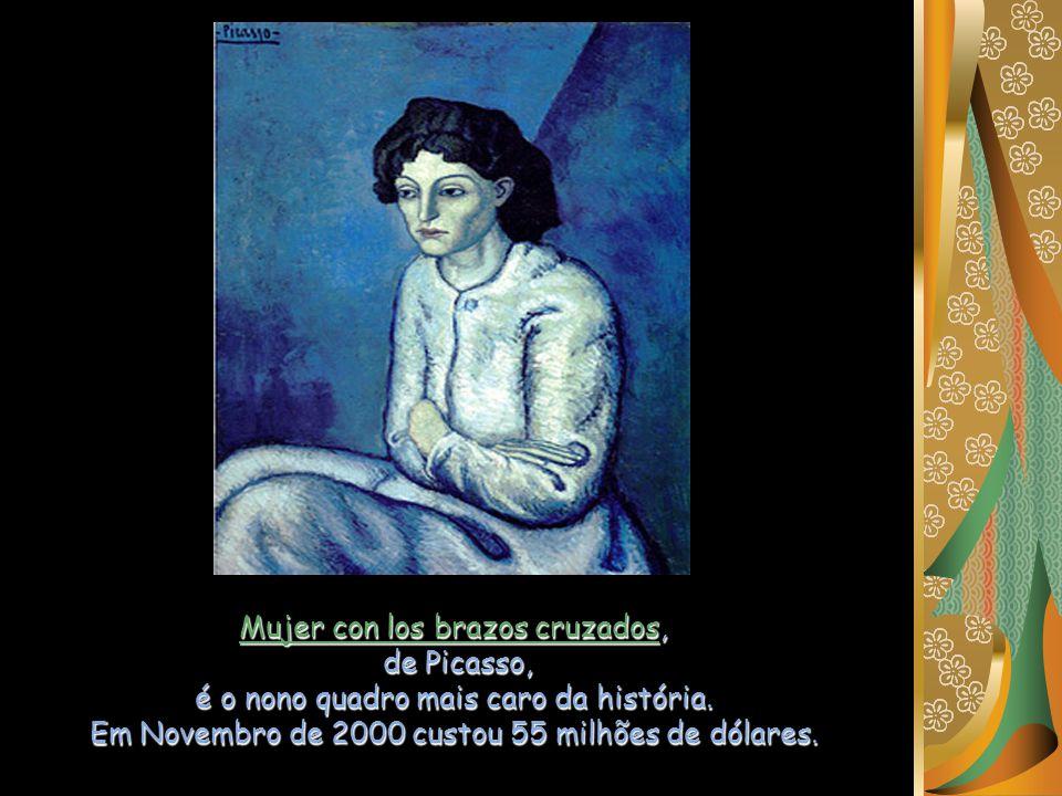 Mujer con los brazos cruzados, de Picasso,