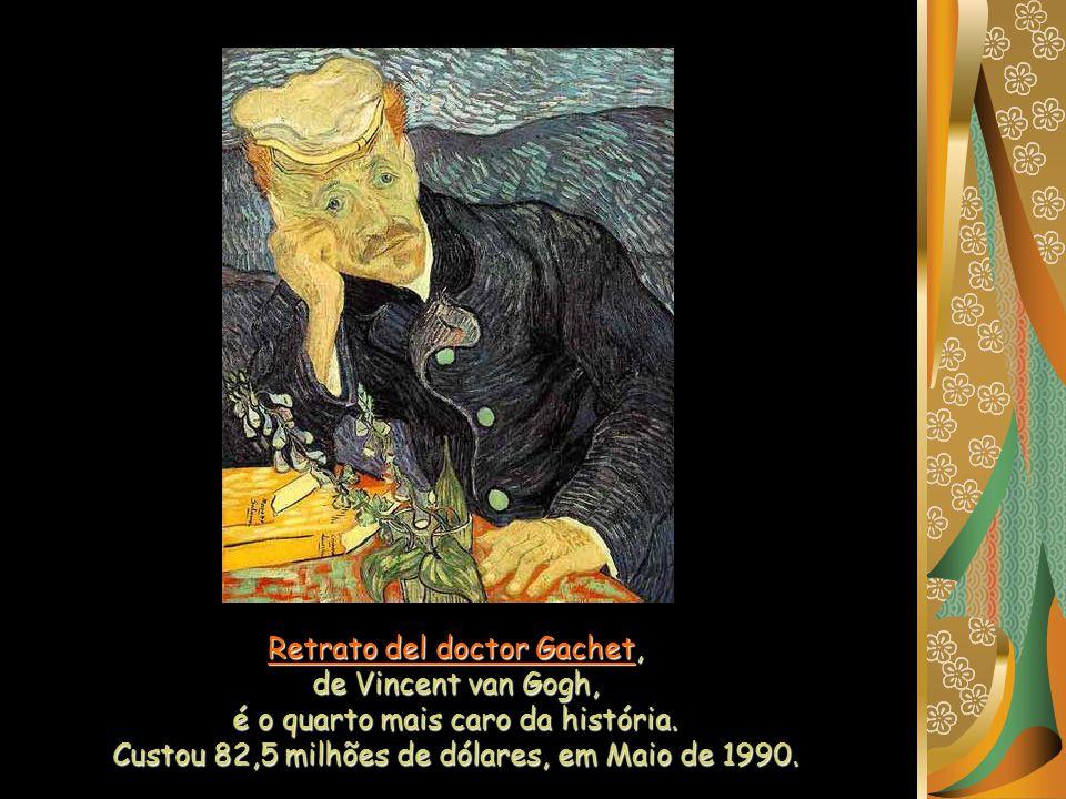 Retrato del doctor Gachet, de Vincent van Gogh,