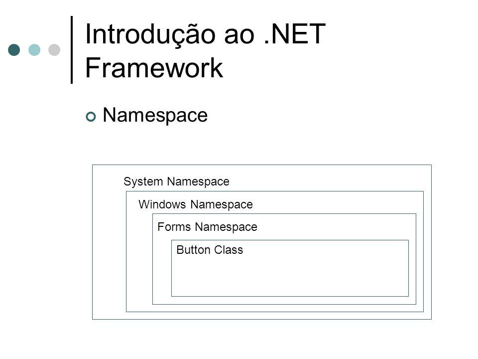 Introdução ao .NET Framework